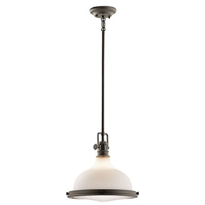 Dov Transitional 1-Light Pendant Finish: Olde Bronze