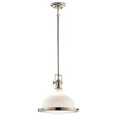 Kontea 1-Light Pendant Finish: Polished Nickel