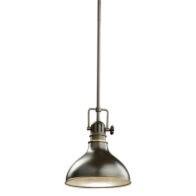 Dov 1-Light Mini Pendant Finish: Olde Bronze