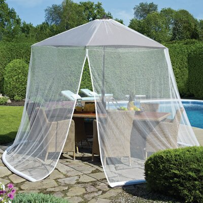 Tortuga Mosquito Net with Repellant Color: White
