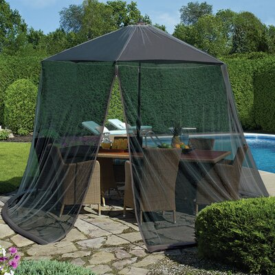 Tortuga Mosquito Net with Repellant Color: Black