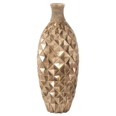 Textured Bottle Floor Vase