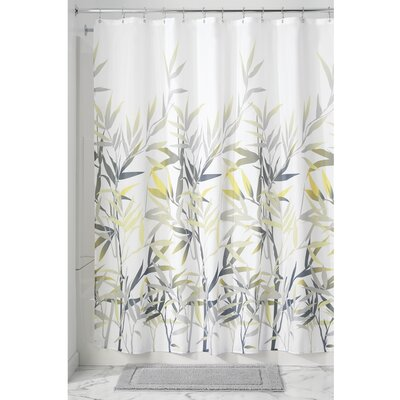 Mulloy Shower Curtain Color: Yellow