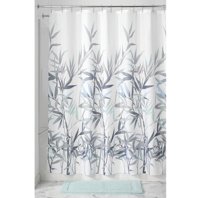 Barleria Shower Curtain Color: Purple