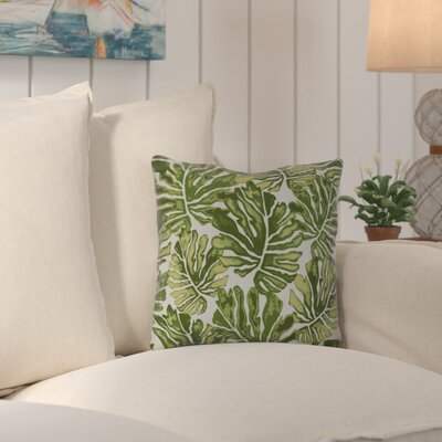 Thirlby Throw Pillow Size: 18 H x 18 W x 3 D, Color: Green