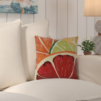 Costigan Lemonade Throw Pillow Size: 16