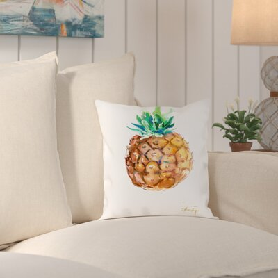 Rockwell Pineapple Outdoor Throw Pillow Size: 20 H x 20 W x 2 D