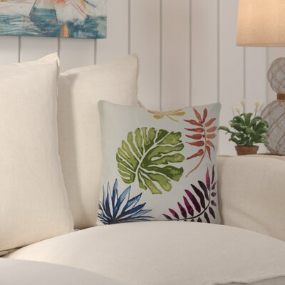 Costigan Brambles Floral Print Throw Pillow Size: 16 H x 16 W x 3 D