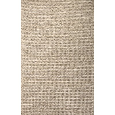 Reynoso Brown Stripe Area Rug Rug Size: 2 x 3