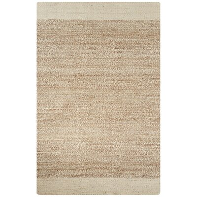 Raposa Ivory/Natural Area Rug Rug Size: 2 x 3