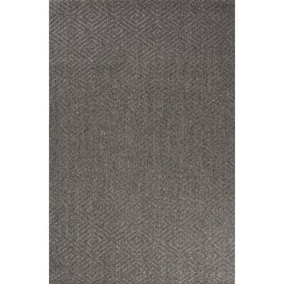 Raposa Hand-Woven Gray Area Rug Rug Size: Rectangle 8 x 10