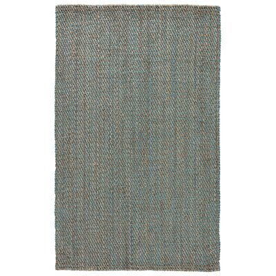 Raposa Simply Taupe/Viridian Green Naturals Area Rug Rug Size: 9 x 12