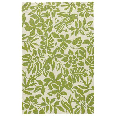 Artemi Dark Citron Indoor/Outdoor Area Rug Rug Size: 76 x 96