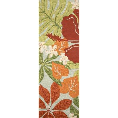 Artemi Hand-Hooked Indoor/Outdoor Area Rug Rug Size: Rectangle 8 x 26