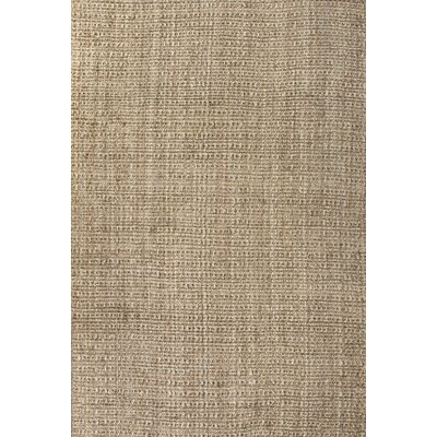 Quintana Hand-Woven Beige Area Rug Rug Size: Rectangle 14 x 10
