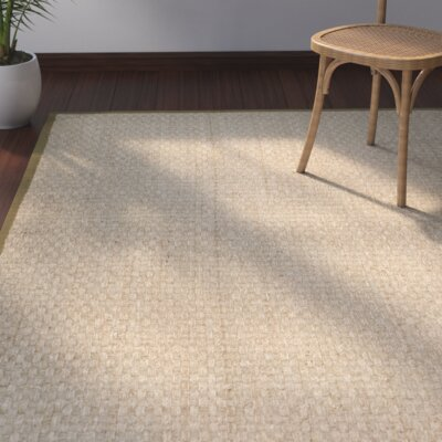 Greene Natural/Olive Rug Rug Size: Square 8