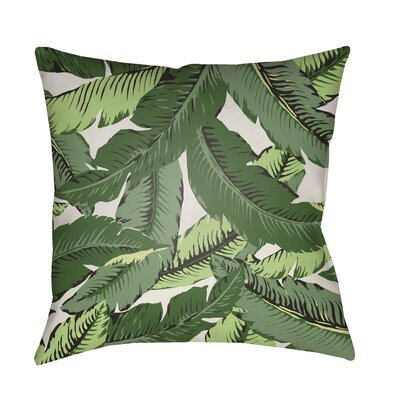 Tomasello Indoor/Outdoor Throw Pillow Size: 18 H x 18 W x 4 D