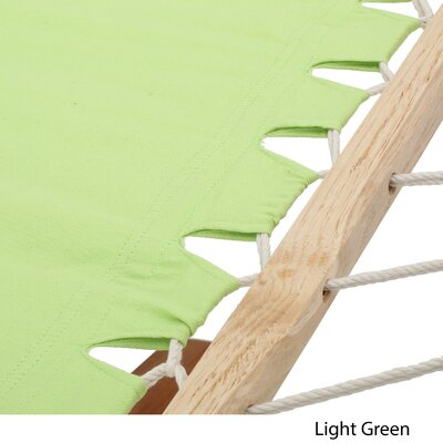 Kouklia Polyester Hammock Color: Light Green