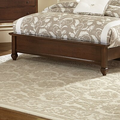 Arden Footboard Size: Twin, Finish: Soft White