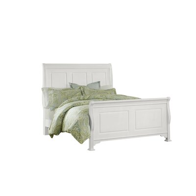 Hewitt Wood Headboard Size: Full, Color: Soft White