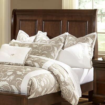 Hewitt Wood Headboard Size: Full, Color: French Cherry