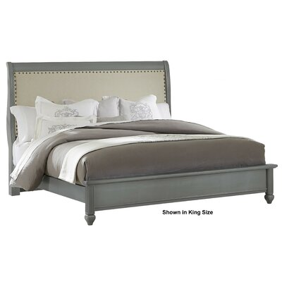 Arden Upholstered Headboard Finish: Zinc, Size: King
