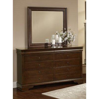 Arden 6 Drawer Dresser with Mirror