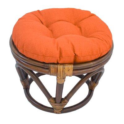 Xavier Ottoman Upholstery: Tangerine Dream