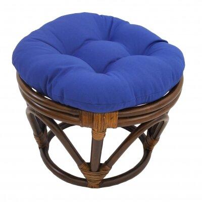 Tern Ottoman Upholstery: Royal Blue