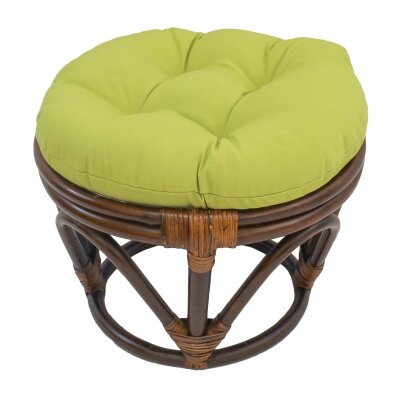 Xavier Ottoman Upholstery: Mojito Lime