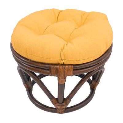 Xavier Ottoman Upholstery: Sunset