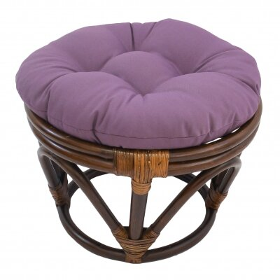 Xavier Ottoman Upholstery: Grape