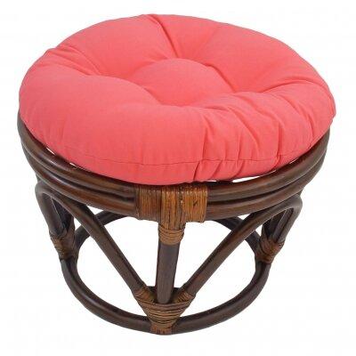 Xavier Ottoman Upholstery: Pink