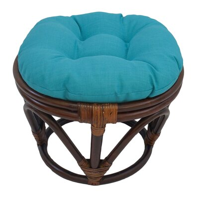 Xavier Ottoman Upholstery: Sage