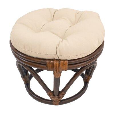 Xavier Ottoman Upholstery: Eggshell