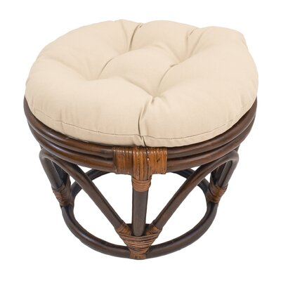 Tern Ottoman Upholstery: Eggshell