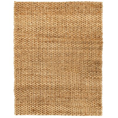 Merribrook Hand-Woven Brown/Tan Area Rug Rug Size: 9 x 12
