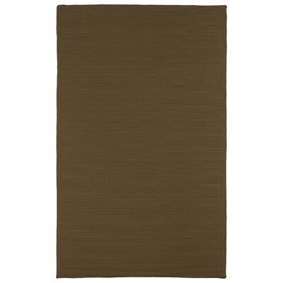 Josephine Chocolate Indoor/Outdoor Area Rug Rug Size: Rectangle 5 x 8