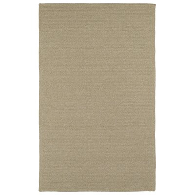 Josephine Hand-Woven Natural Indoor/Outdoor Area Rug Rug Size: Rectangle 5 x 8