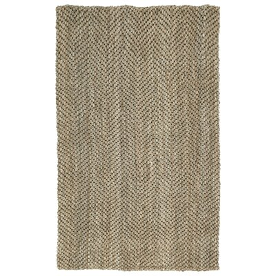 Rose Herringbone Brown Area Rug Rug Size: 4 x 6