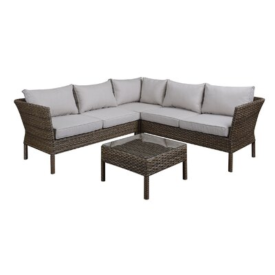 Wickson Sectional Sofa and Table Set