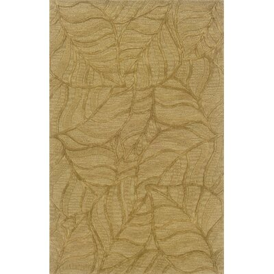 Tweedbrook Gold Area Rug Rug Size: Rectangle 36 x 56