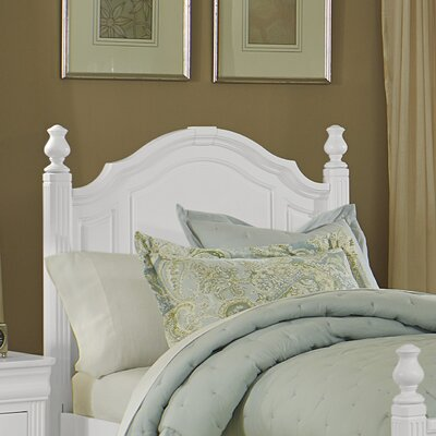 Hewitt Panel Headboard Size: Twin, Color: Soft White