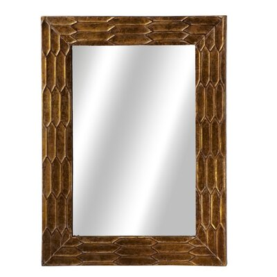 Rectangle Texture Wall Mirror