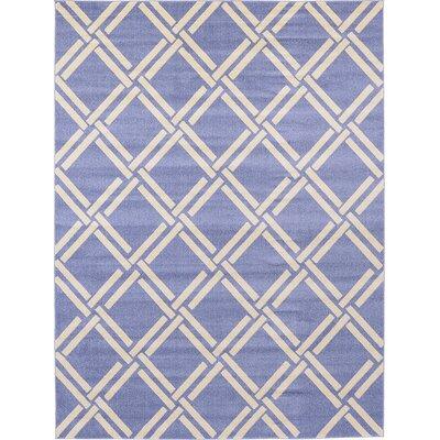 Seagate Blue Area Rug Rug Size: 7 x 10