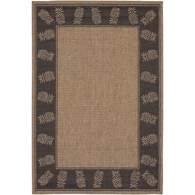 Southard Cocoa Indoor/Outdoor Area Rug Rug Size: 39 x 55