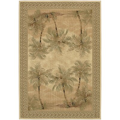 Lauralee Desert Sand Area Rug Rug Size: Rectangle 53 x 76