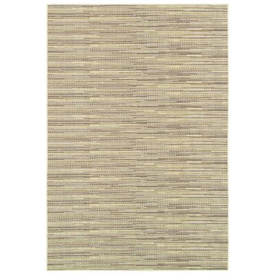 Kelston Sand Indoor/Outdoor Area Rug Rug Size: 39 x 55