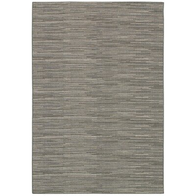 Kelston Gray Indoor/Outdoor Area Rug Rug Size: 53 x 76