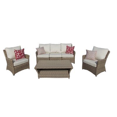 Oakmont 6 Piece Deep Seating Group with Cushion